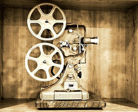 authentic film reel movie camera wall decor home theater vintage reel to reel movie projector photographic art print