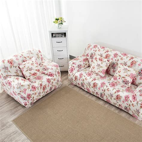 elastic couch cover printed sofa cover cushion covers for
