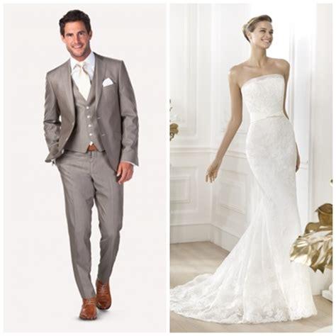 blauwe overhemd jurk bruid en bruidegom en de perfecte match