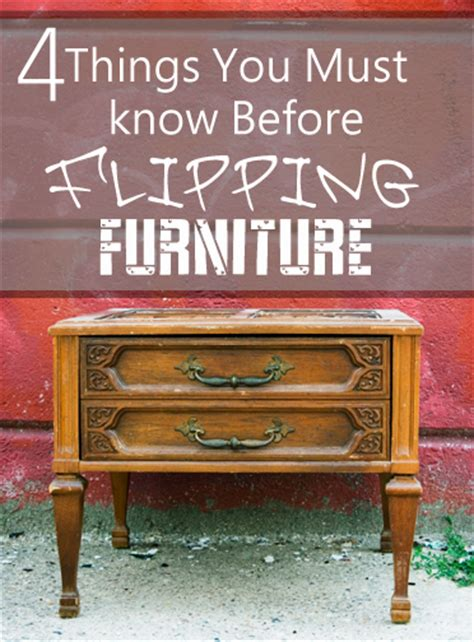 what you should know before you flip furniture how to build it