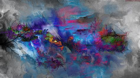 abstract painting nature hd wallpaper hd latest wallpapers
