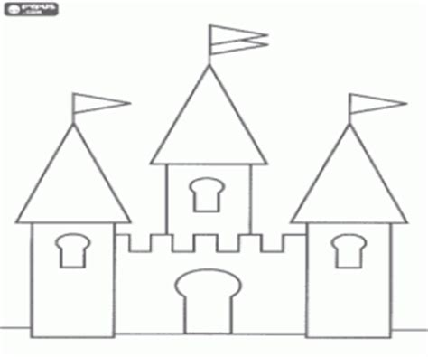 small castle coloring page castles coloring pages printable games