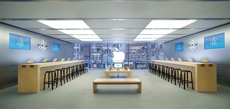 home design apple store design italian stone as part of the branding stone