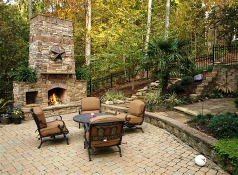 rustic backyard rustic outdoor fire pit design idea fres hoom