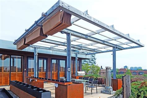 canapé modulables rooftop patio canopies shadefx canopies