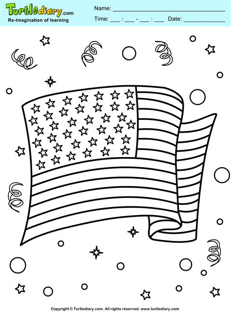 4th of july coloring sheets 4th of july celebration coloring sheet turtle diary