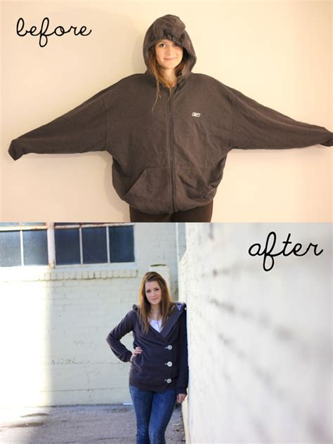 Does Sweat Turn You On by Hooded Sweatshirt Redo Allcrafts Free Crafts Update