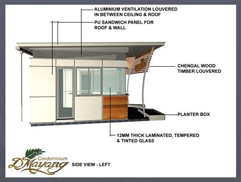 codominium security guard house design 7 element design
