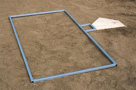 batters box template field marking loaded batter s box template