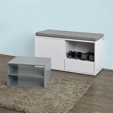 shoe bench with cushion sobuy 174 hallway shoe cabinet rack shoe storage bench with