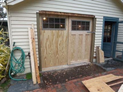 Wood Garage Door Plans
