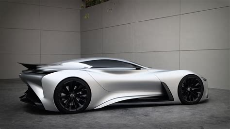 infiniti vision gt displayed outside of its world