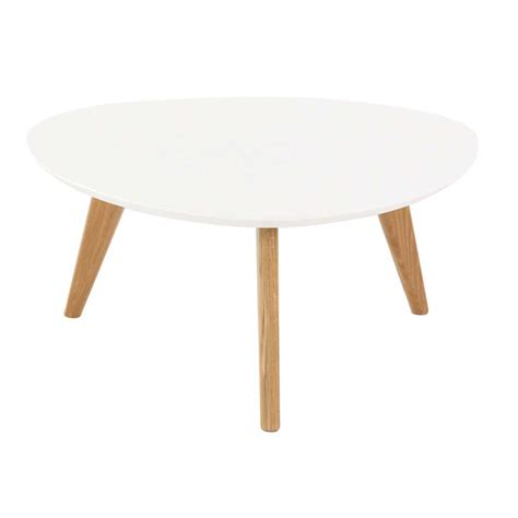 table basse vintage blanche table basse ronde et plateau blanc pixy absolument design