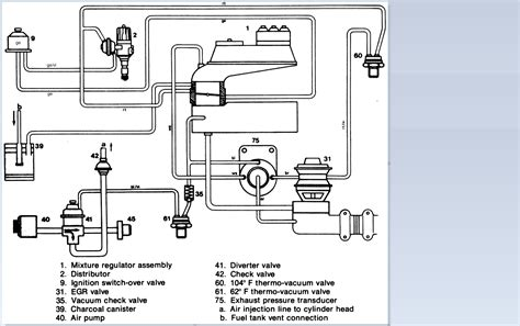 1976 mercedes 450sl vacuum diagram get free image about