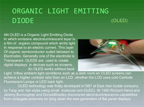light emitting diode slideshare oled