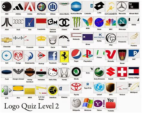 logo level 25 answers logos quiz answers all logos pictures