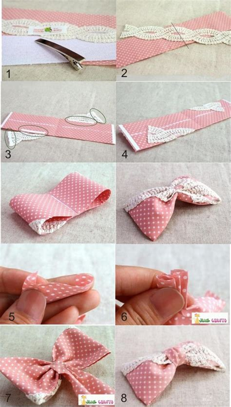 How To Make Hair Accessories At Home Easy by 30 And Easy To Make Hair Bows Diy Projects