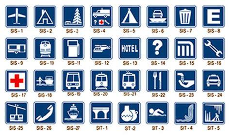 imagenes de simbolos informativos soluciones viales se 241 alamiento informativo de servicio y
