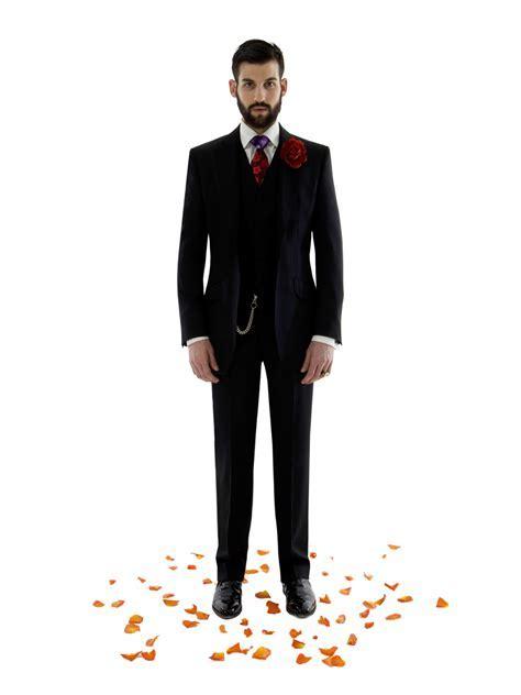 Black Suit At Wedding Dress Yy