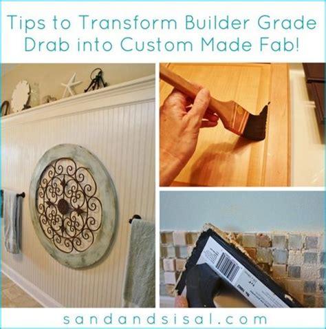 what are builder grade cabinets made of transform builder grade drab into custom made fab mirror
