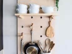 diy kitchen storage shelf and pot rack hgtv diy kitchen storage shelf and pot rack hgtv
