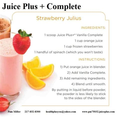 Juice Plus Detox Meals by 18 Best Juice Plus Complete Recipes Images On