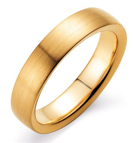 verlobungsringe gold herren verlobungsring modern gelbgold matt 400032 ring mann