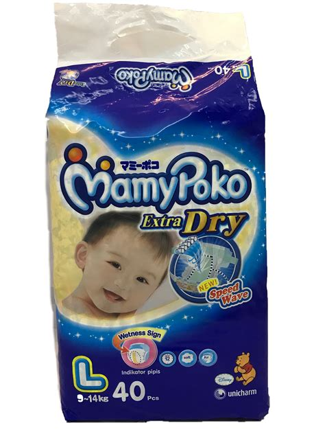 Mamypoko L40 mamy poko l40 s 9 14kg diapers baby needs