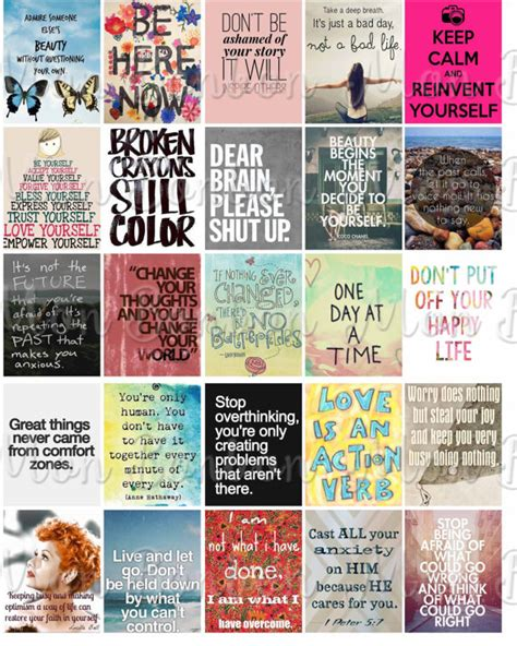 printable motivational stickers for students anxiety motivational quotes sticker sheet printable