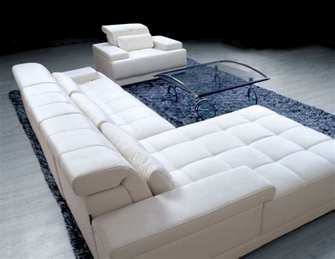 white leather living room furniture modern white leather furniture decosee com