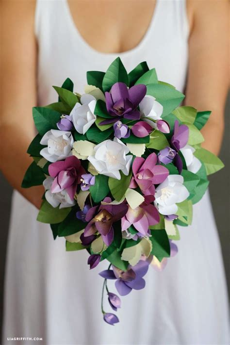 Flower Bouquet With Paper - 89 best images about diy paper flowers on