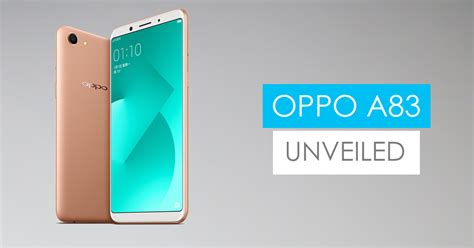 Oppo A83 oppo a83 price specs features availability