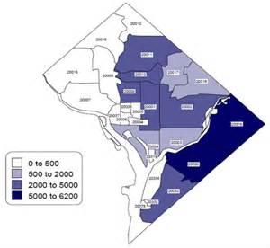 Zip Code Map Dc by Washington Dc Zip Code