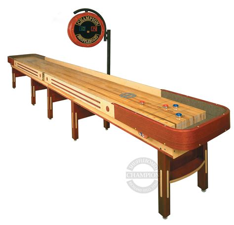22 grand chion limited edition shuffleboard table