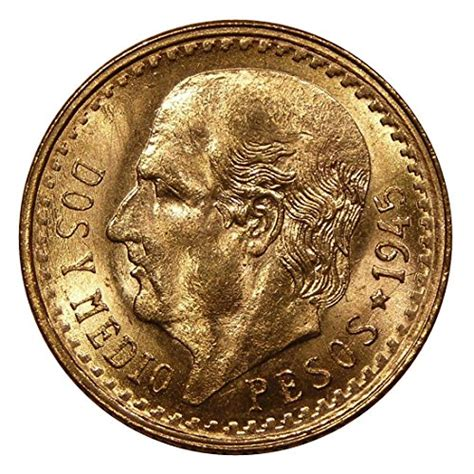Can I Buy Amazon Coins With Amazon Gift Card - 1945 mexico 2 1 2 pesos gold coin at amazon s collectible coins store