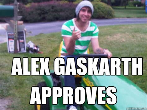 Alex Meme - alex gaskarth approves alex approves quickmeme
