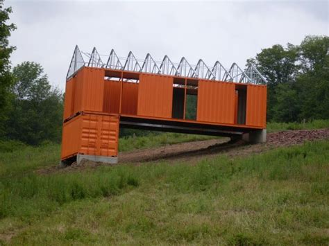 Backyard Cottages shipping container barn design containers pinterest