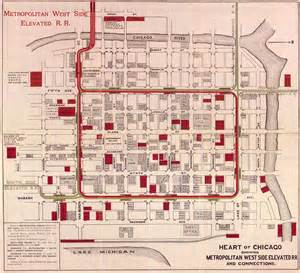 Chicago Loop Map Printable by Chicago L Org System Maps Route Maps