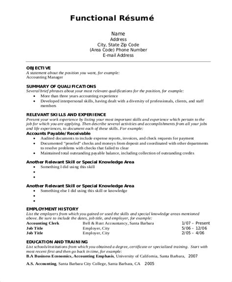 different resume formats pdf 8 resume format exles sle templates