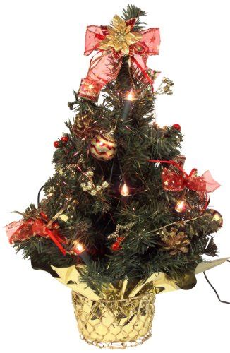 mini weihnachtsbaum mit beleuchtung k 252 nstlicher mini weihnachtsbaum geschm 252 ckt und beleuchtet
