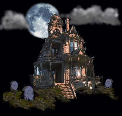 house animated gif free to use public domain haunted house clip art