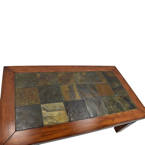 77 wooden tiled coffee table tables