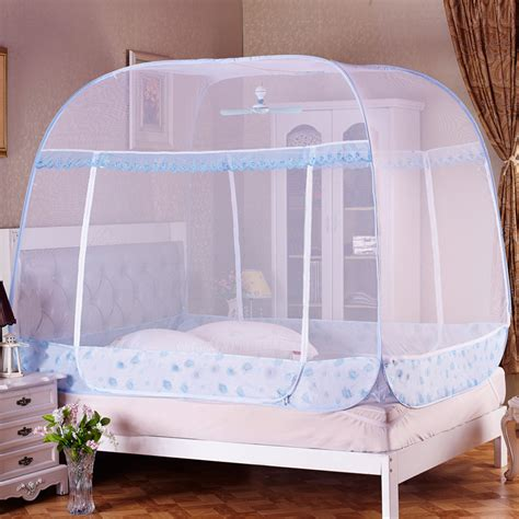 bed mosquito net quick open pop up mosquito net bed canopy ger type 4