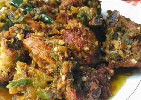 resep ayam goreng lado mudo khas padang ayam cabe ijo