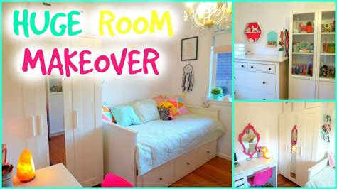 bedroom makover amazing room makeover for teenagers small bedroom