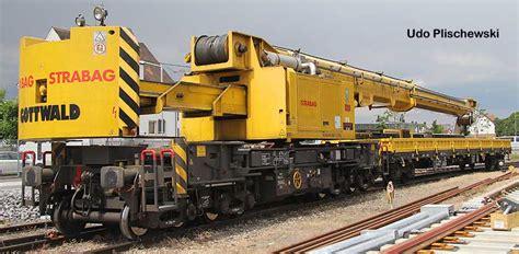 Kran Rr Gleisbauschienenkran Gs 80 08 T Gottwald Www Eisenbahndienstfahrzeuge De