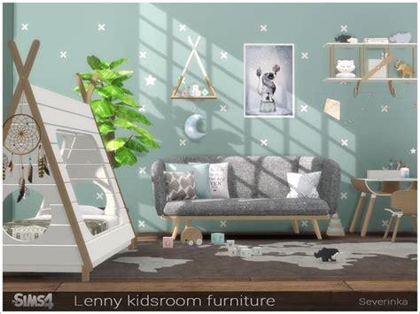 severinkas lenny kidsroom furniture sims  bedroom