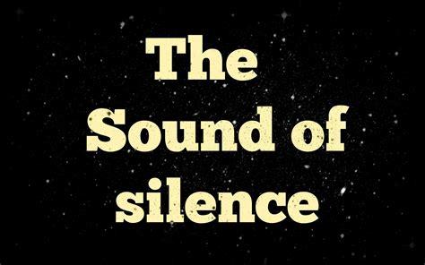 the sound of silence lyrics to the sound of silence az lyrics