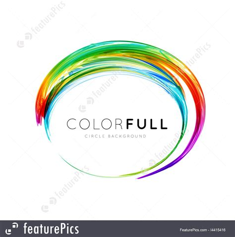 colorful circle logo colorful circle vector stock illustration i4415416 at