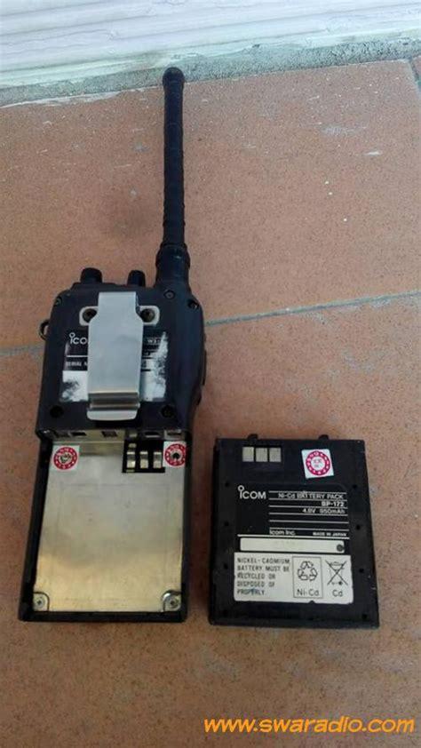 Ht Icom Dual Band dijual ht icom ic w32a dual band swaradio